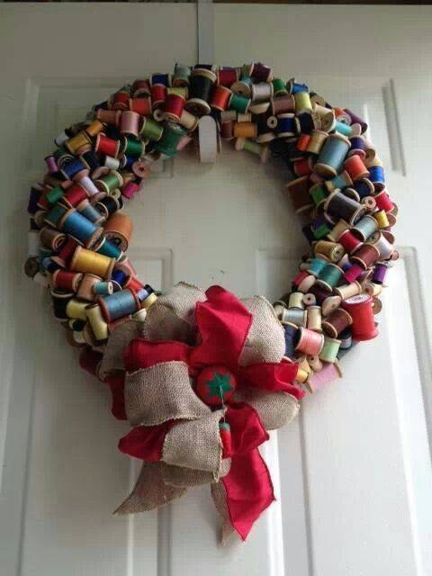 Awesome decoration for any sewing/craft room.