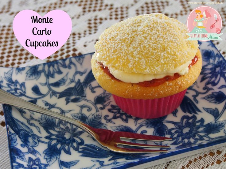 Monte Carlo Cupcakes | Stay at Home Mum