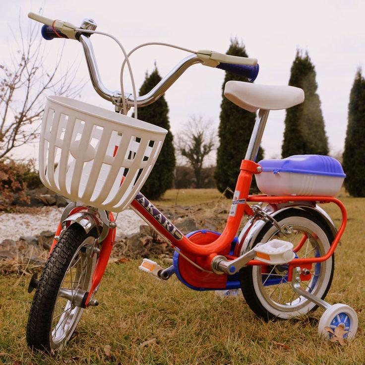 Bicicleta copii Yakari rosie