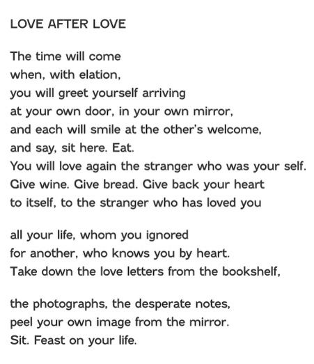 By Derek Walcott