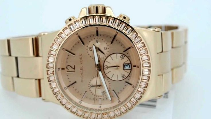 Michael Kors Ladies Rose Gold Watch MK5412