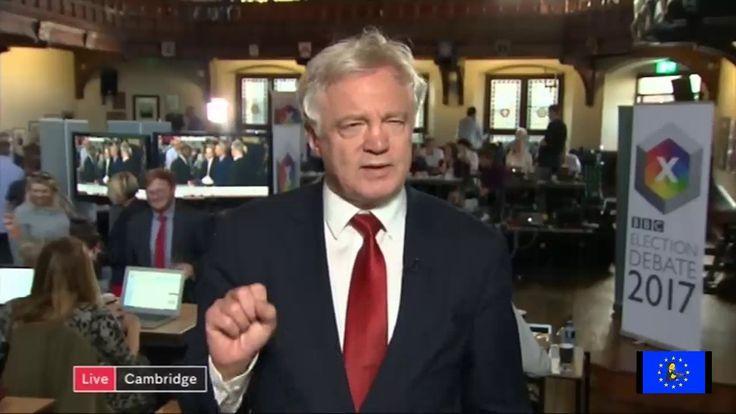GE2017: the disreputable David Davis slapped down on Channel 4 News