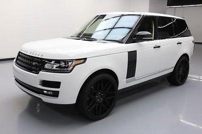 Land Rover Range Rover Autobiography 2014 Autobiography Used 5L V8 32V Automatic 4X4 SUV Premium