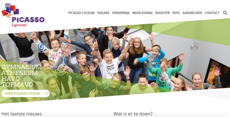 De pattern is Escape Hatch.  De website is picasso-lyceum.nl