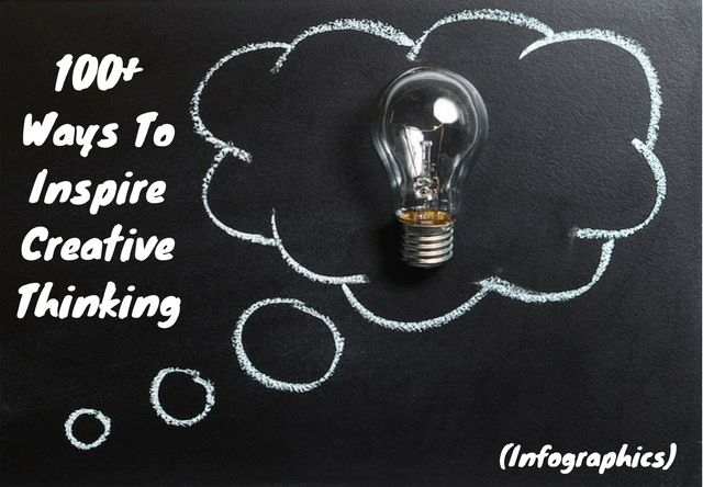 100+ Ways To Inspire Creative Thinking [Infographic Examples] [Infographic]
