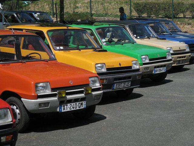 Renault 5... pour les ménagères  tendance !
