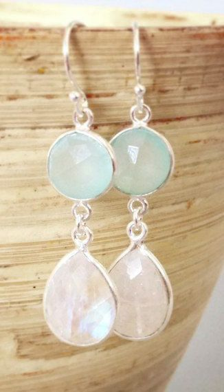 beach wedding jewelry beach bridesmaid earrings #beachwedding