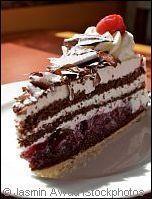 I am getting week in the knees :) Authentic Black Forest Cake Recipe - Schwarzwälder Kirschtorte Facts