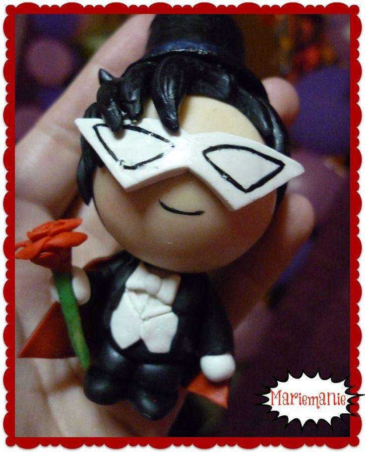Tuxedo Mask chibi figure