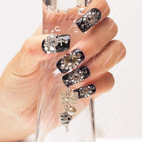 17 Best Images About BLING NAILS On Pinterest