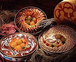 Mazapán de Toledo... receta de origen árabe. Exquisito, te encantará este postre.