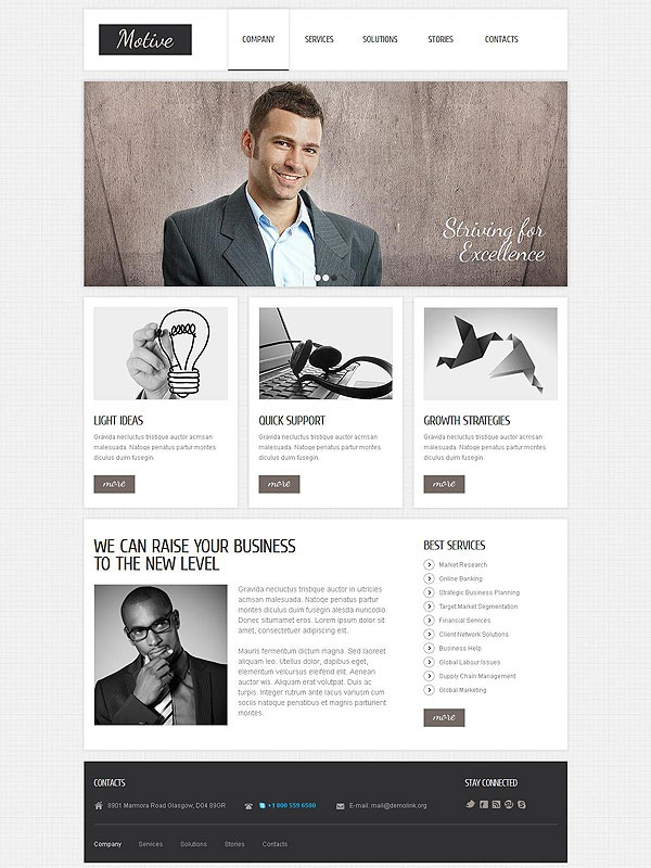 Best 25+ MUST-SEE web templates images on Pinterest   Role models ...