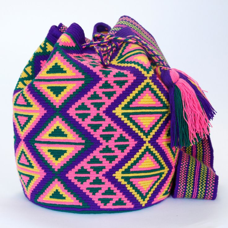 Hermosa Mochila Bag is 100% Handmade. Each product is one-of-a-kind.  Shop this style at $295.00