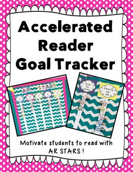 Motivate your students to read with this Accelerated Reader goal tracker! Your students will love earning points on AR and watching their AR star move up each week. This system not only motivates your students to read but rewards them for their hard work.