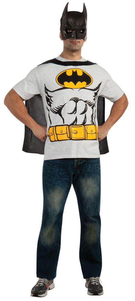 Batman T-Shirt, Cape & Mask : Get It On Fancy Dress Superstore, Fancy Dress & Accessories For The Whole Family. http://www.getiton-fancydress.co.uk/superheros/batmanrobin/batmant-shirtcapemask#.UuuY5vsry10