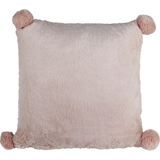 Isao Coussin rose 40x40cm