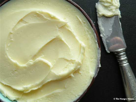 Homemade butter! Yep, I made my own butter using this recipe, and I am ...