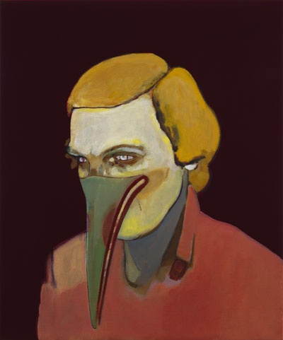 Milena Dragicevic  Supplicant 101, 2008  Öl auf Leinen  61 x 51 cm