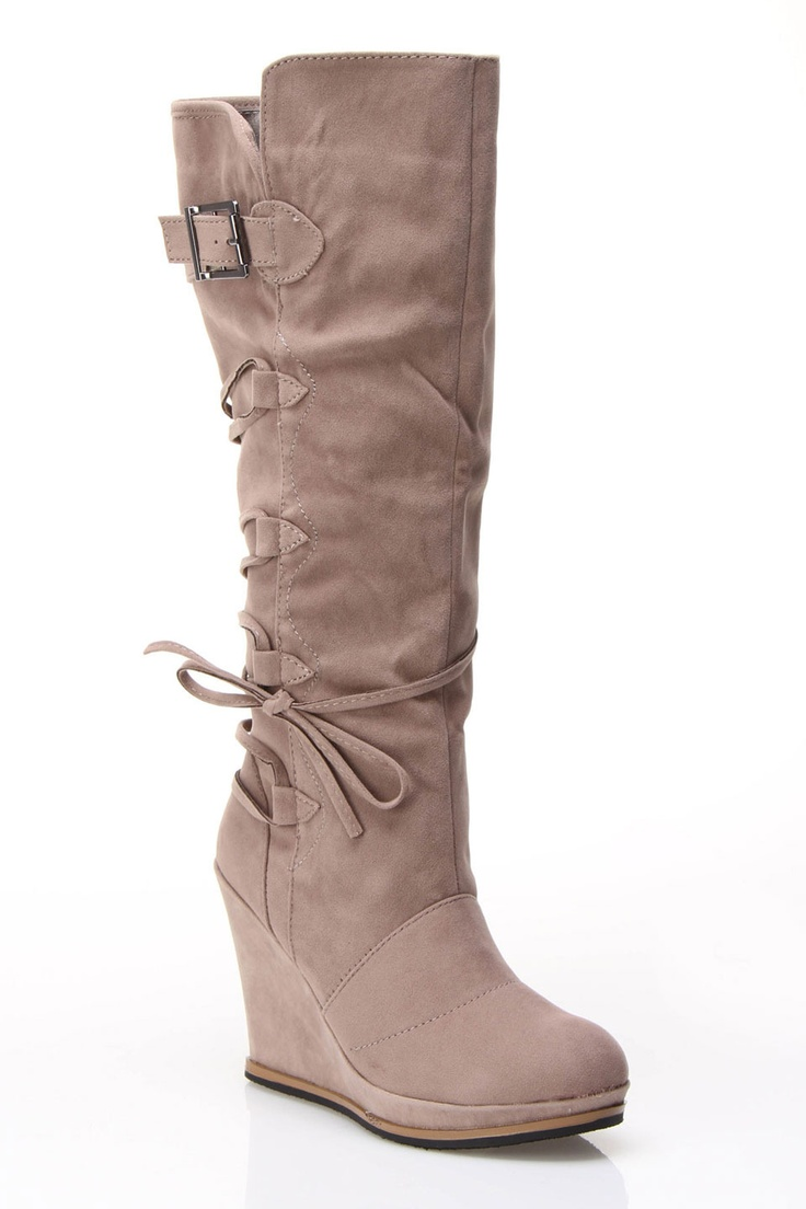 outlet 100% guaranteed Ruched Boots Taupe Jada sale cheap prices sale wiki countdown package cheap online discount pre order bZiRRR9Q