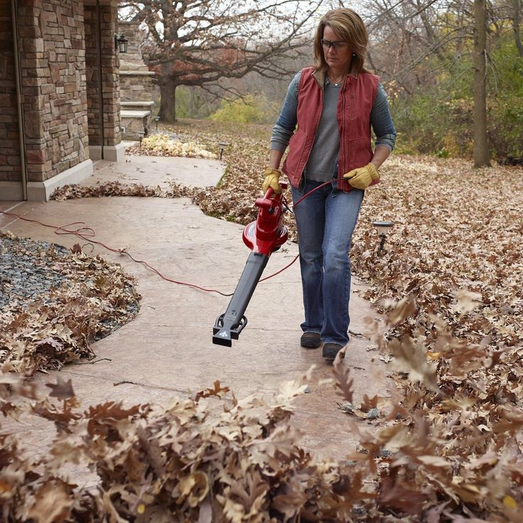 Best Techniques For Using a Leaf Blower Leaf blowers
