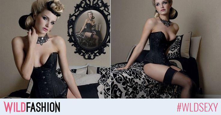 De ce iubim corsetele? Pentru ca in ele avem talie mica si decolteul pus in valoare - adica o silueta sexy, de invidiat!