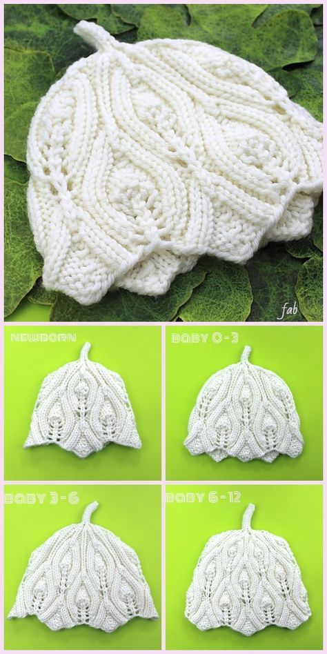 Knit Elvish Teeny Tiny Baby Hat Free Knitting Pattern   CZAPKI ...