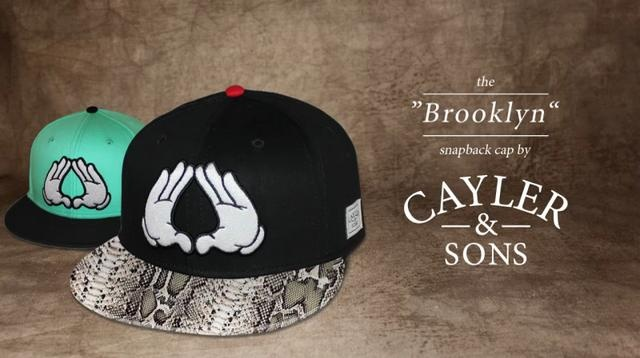 """The """"BROOKLYN"""" Snapback Cap by Cayler & Sons"""