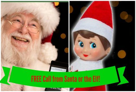 Get a FREE Call from Santa or the Elf!