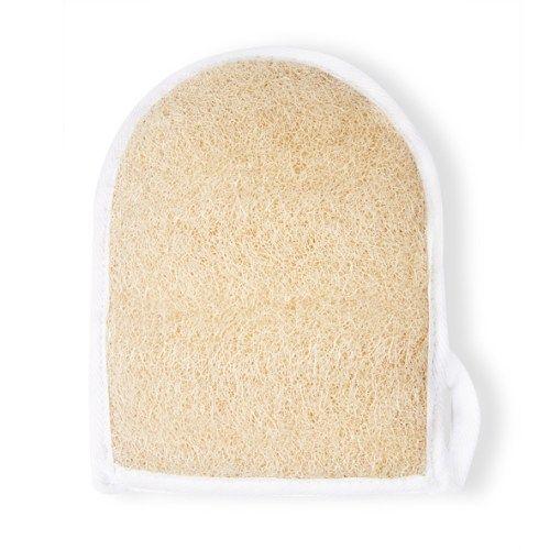 Guante de lufa vegetal #cosmetics #baños #bathroom #belleza #beauty #guantes #esponja