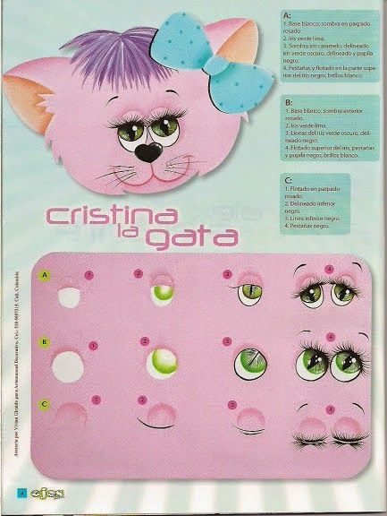 Crafts Magazines Free: Learn to paint eyes crafts