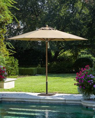 Shop Now - >  https://api.shopstyle.com/action/apiVisitRetailer?id=504920449&pid=uid6996-25233114-59 Santa Barbara Designs Cocoa Standard Canopy Outdoor Umbrella  ...