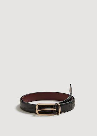 6ef5e616 Cinturón hebilla metálica - Cinturones de Mujer | OUTLET España ...