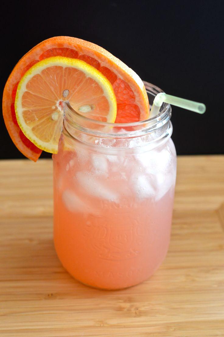 Grapefruit lemonade. 32 kcal. Month 6 - week 1 meal plan.