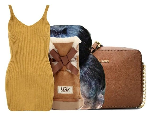 """""""If it's not simple then it's not right ."""" by royaltyvoka ❤ liked on Polyvore featuring MICHAEL Michael Kors, UGG Australia and WearAll"""