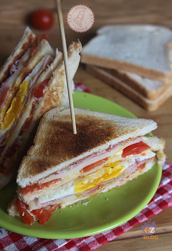 17 migliori idee su Ricette Club Sandwich su Pinterest | Sandwich club ...