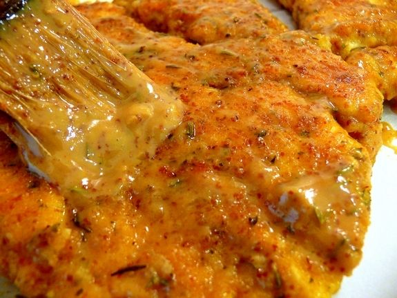 Maple Mustard-Glazed Chicken OK, so I lied. I've made this like three ...