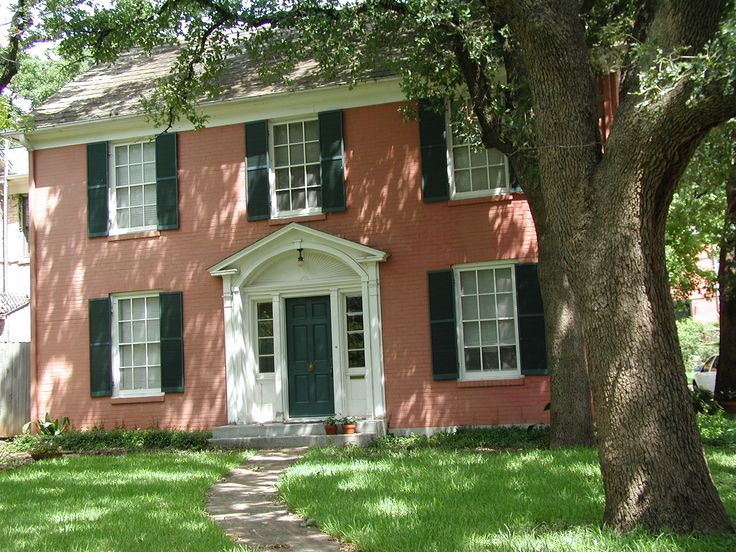 Historical society brick home google search home for Colonial brick