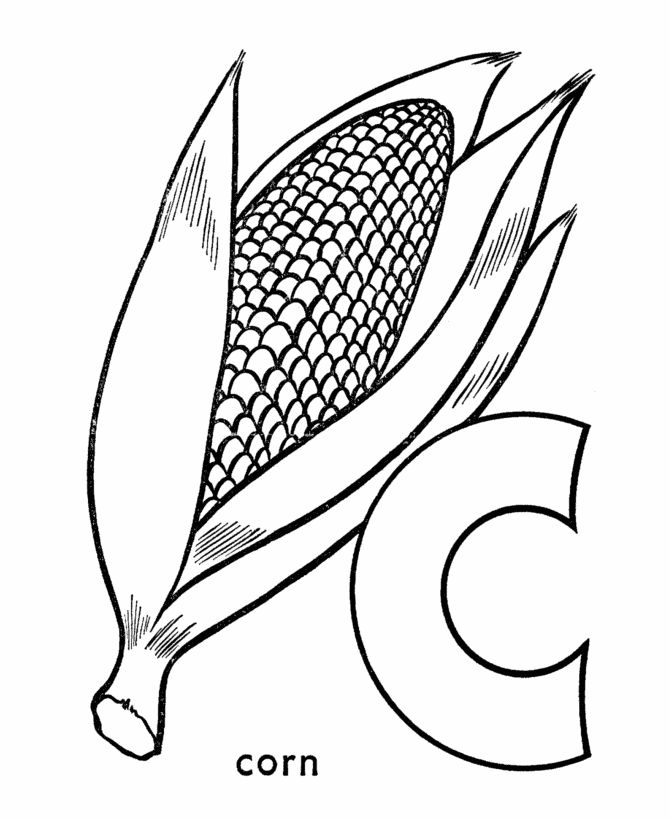 Pre K Coloring Pages Alphabet. ABC Pre K Coloring Activity Sheet  Letter C Corn 45 best coloring pages images on Pinterest sheets Abc