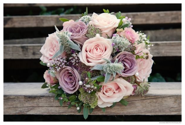 Vintage faded pink and purple rose bouquet. Mckenzie Brown Photography » Blog