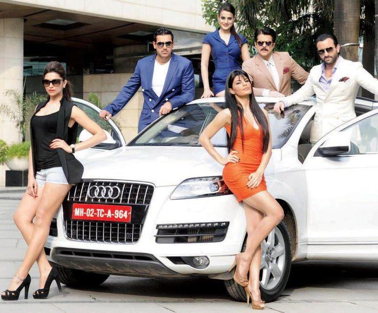 Pics: Action Hindi Film 'Race 2′ Team Promoting Audi Brand (Advertisements)