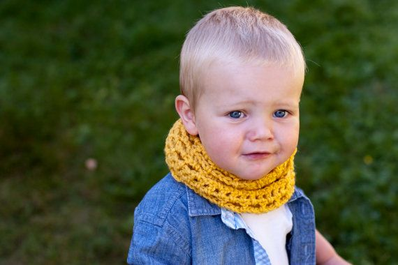 Perfect mustard accessory for my boy this fall!