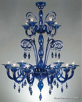 Murano Glass Italian Chandeliers
