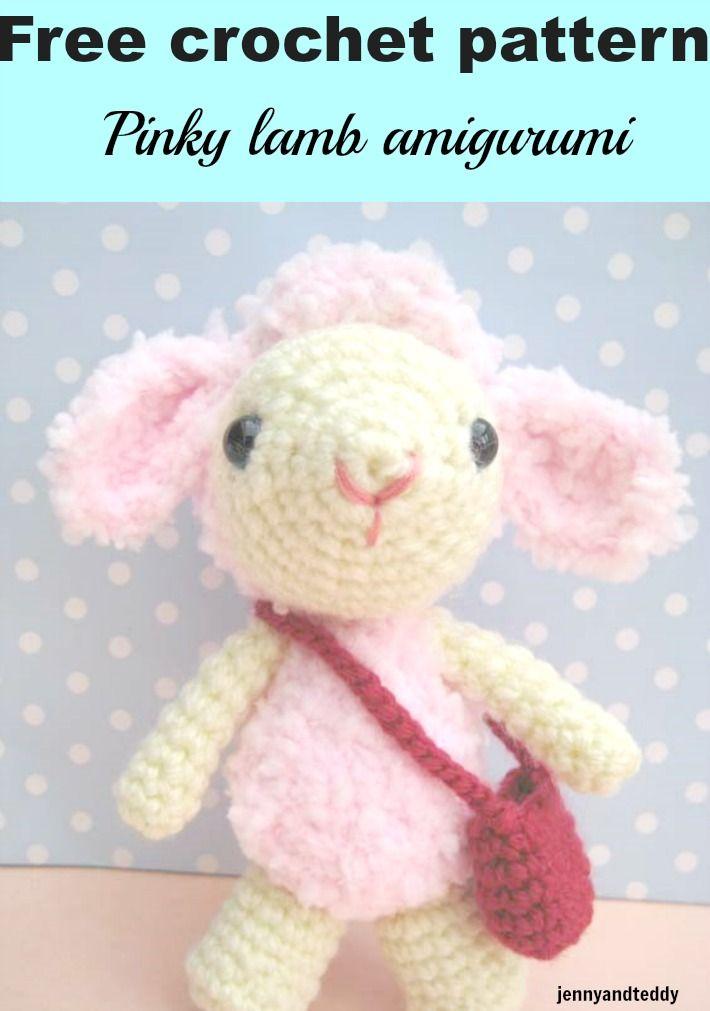 Cuddly Sheep Amigurumi Pattern : 75 Best images about Jennyandteddy tutorials on Pinterest ...
