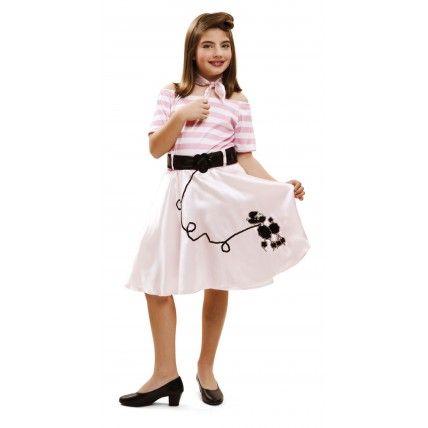Disfraz de Niña años 50