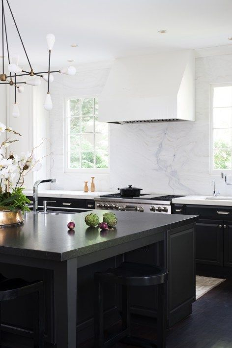 Modern White And Black Kitchen best 25+ modern white kitchens ideas only on pinterest | white