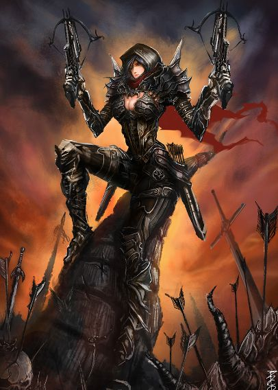 demon hunter crossbow - Google Search