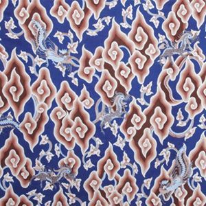 batik mega mega cloudy batik motif indonesian batik traditional fabric ...