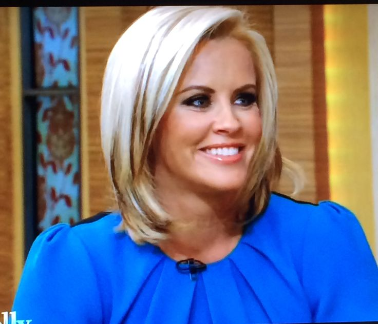Next hair color for me! Jenny McCarthy! I want her hair! Love the peek a boo brown streaks!