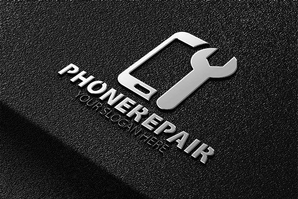 Phone Repair Logo - Logos