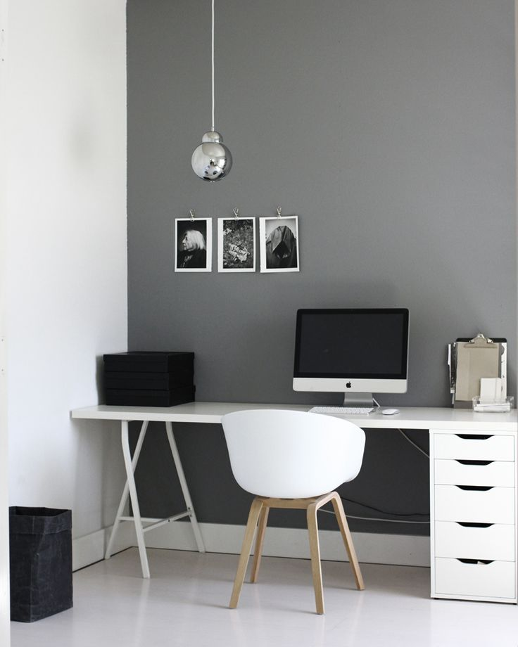 Design Johanna Asshoff Office1 Http://www.amerrymishapblog.com/ Desk With  Drawers, Ikeaaaaa | Bedroom Ideas | Pinterest | Desks, Gray And Drawers